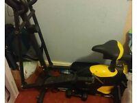 Manual crosstrainer