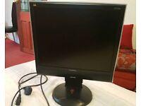 """ViewSonic Monitor 19"""" screen"""