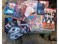 DVDs Job Lot of 10 good condition including season box set