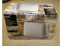 Brand new toaster in box