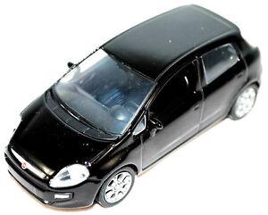 New-Fiat-Grande-Punto-EVO-1-43-Model-Car-New-Black-50906987