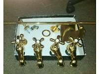 Gold Bathroom Set