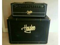 Hayden 40-Watt HGT-A40 Head Valve Amplifier and 2x12 Hayden Speaker Cabinet