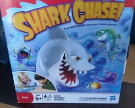 Shark Chase Game.