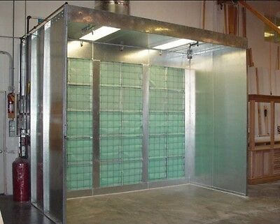 Spray Booth Open Face U.s.a Made Approved Free Local Shipping