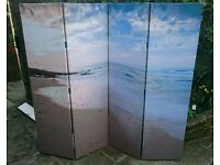 Room divider, 4 panel