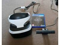 PS VR WITH CAMERA & SKYRIM VR