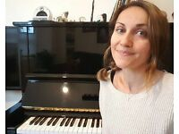 Piano lessons for all levels, from £25 per hour, Edinburgh, Scotland.