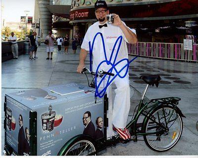 Penn Jillette Signed Autographed The Celebrity Apprentice Photo