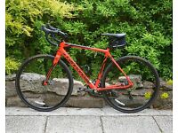 Cannondale Disc Tiagra 6 - 54cm - AS NEW.
