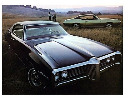 1969 Pontiac LeMans Automobile Photo Poster zca3008