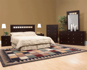 6 PIECE QUEEN SIZE BEDROOM SET...$499 ONLY$499.00$499.00