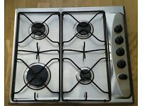 Whirlpool Stainless Steel Gas Hob