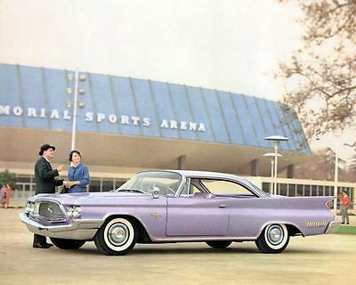 1960 Chrysler New Yorker Factory Photo m1404-ZK3NIP