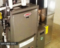 Furnaces & Air Conditioners - From $2200 Installed or $35/mth