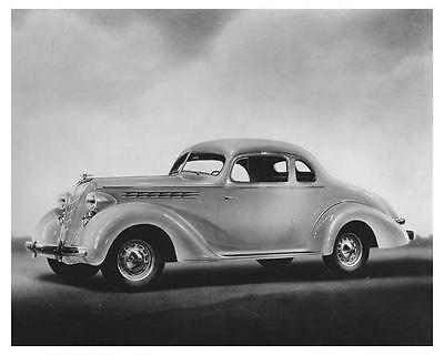 1936 Hudson Terraplane Coupe Automobile Factory Photo ch6612