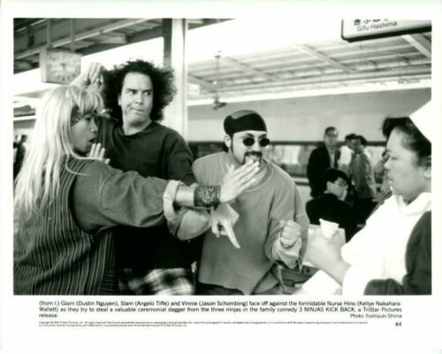 3 Ninjas Kick Back Dustin Nguyen Angelo Tiffe Original 8x10 Press Photo