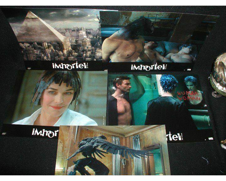 "IMMORTEL Ad Vitam~Enki Bilal~Five 8""x10"" Lobby Ad Photos & Movie Poster"