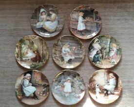 WEDGEWOOD 'YESTERDAYS CHILD' PLATE COLLECTION