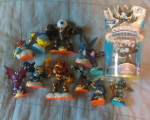 12 SKYLANDERS LOT, (1 is Brand New) : HEX, LIGHTNING ROD, +++