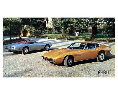 1970 Maserati Ghibli Automobile Photo Poster zc8865