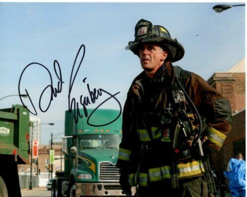 DAVID EIGENBERG signed 8x10 CHICAGO MED P.D. CHRISTOPHER HERRMANN photo