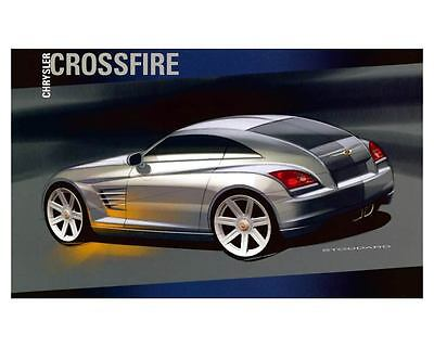 2004 Chrysler Crossfire Automobile Photo Poster zca1816