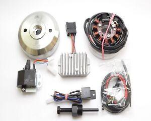 DKW NZ 250-350 Powerdynamo 12V/180W Lichtmaschine/Lima + elektronischer Zündung