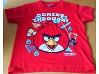 Angry birds tshirt Age 7-8