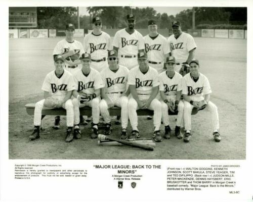 Major League: Back to the Minors cast 1998 Original Press 8X10 Movie Photo