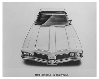 1969 Oldsmobile 442 Convertible Automobile Photo Poster zch7083