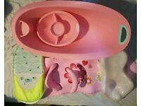 Infant baby kids bath set