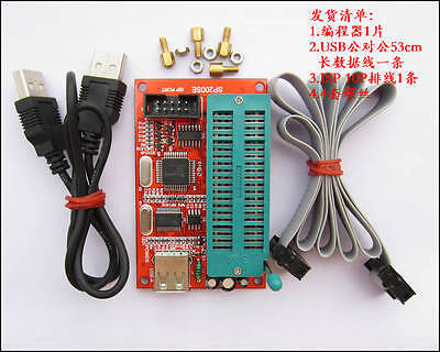 Usb Programmer Isp Interface For Atmel Microchip Sst St Winbon 24xx 93xx Eeprom