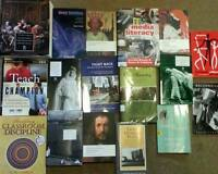 McGill Secondary Education and English Lit Textbooks
