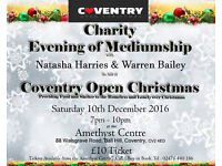 AN EVENING OF MEDIUMSHIP IN AID OF COVENTRY OPEN CHRISTMAS