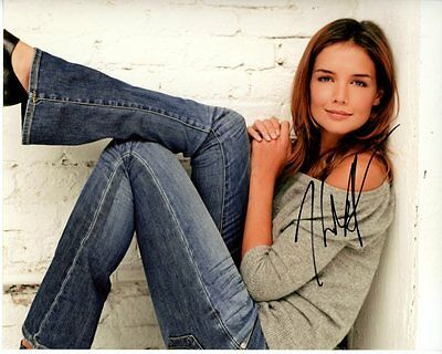 Katie Holmes Signed Autographed Photo