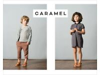 Caramel baby and child clothes