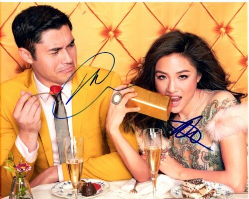 HENRY GOLDING and CONSTANCE WU signed autographed CRAZY RICH ASIANS photo