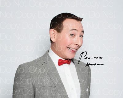 - PeeWee Herman signed Pee Wee's Playhouse 8X10 photo picture poster autograph RP