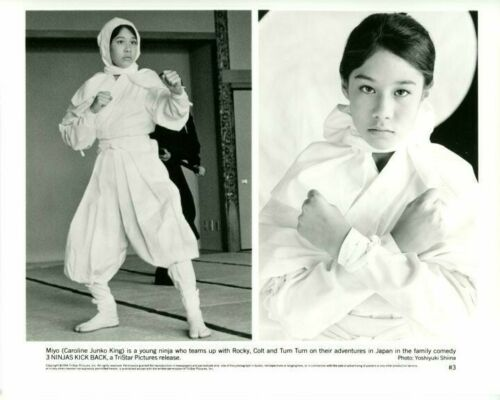 3 Ninjas Kick Back Caroline Junko King Original 8x10 Press Photo