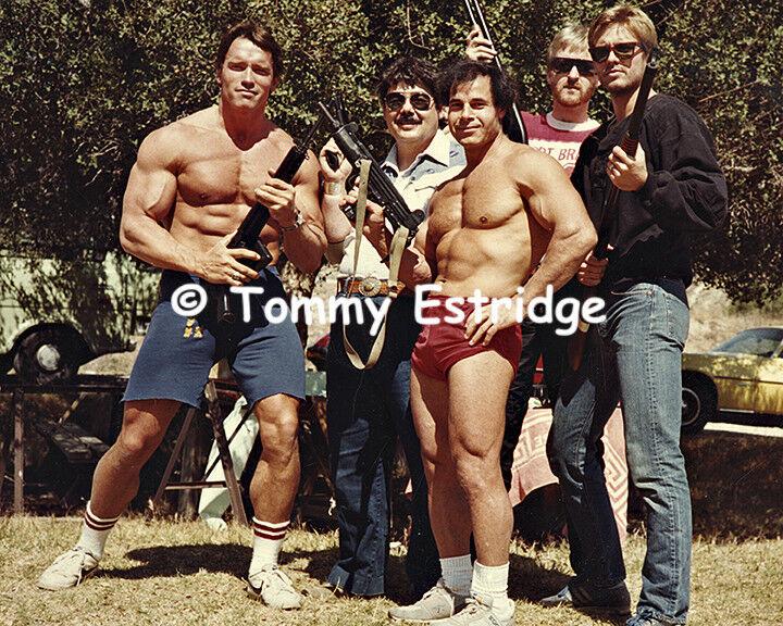 """The Terminator"" movie still, firearms training(T24)"