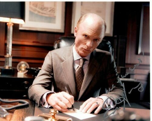 ED HARRIS signed autographed MAN ON A LEDGE DAVID ENGLANDER photo GREAT CONTENT