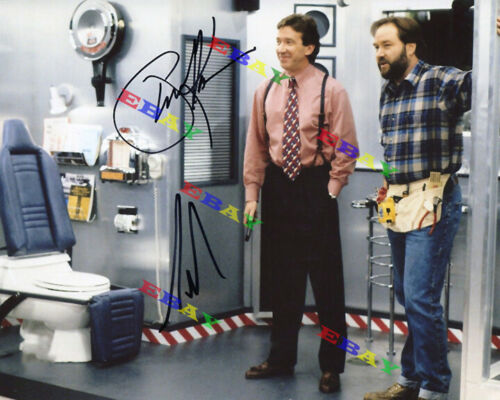TIM ALLEN RICHARD KARN HOME IMPROVEMENT Autographed Signed Photo Reprint