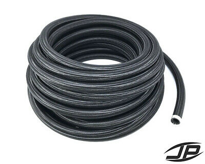 AN16 16AN Black Nylon Braided Stainless Steel Hose HIGH QUALITY! SOLD PER FOOT