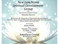 Spiritual Development Group, Tuesdays, 12.30 - 2.30, starts Tuesday 11 October