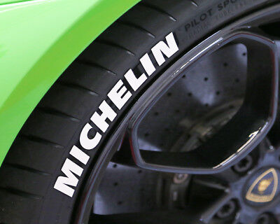 TIRE LETTERS - MICHELIN - 1