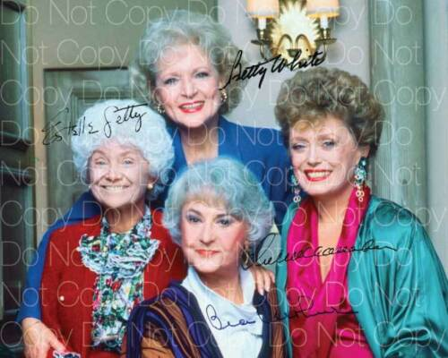 The Golden Girls signed White Arther 8X10 photo picture poster autograph RP