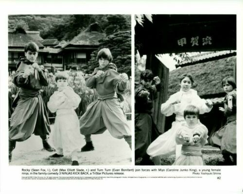 3 Ninjas Kick Back Sean Fox Max Elliott Slade Original 8x10 Press Photo