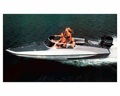 1977 Glastron - Glastron Gt Power Boat Factory Photo Ud - 1977 Glastron