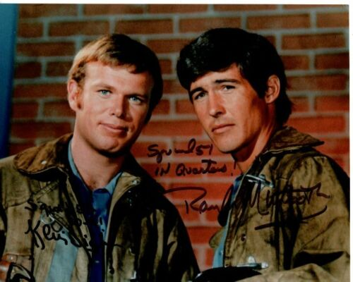 RANDOLPH MANTOOTH and KEVIN TIGHE signed autographed EMERGENCY! photo